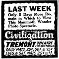 1916 TremontTheatre BostonGlobe Oct2.png