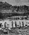 1919-10-11, La Esfera, Lavanderas del Urumea, Darío de Regoyos.jpg