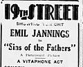 1929 - Nineteenth Street Theater Ad - 1 May MC - Allentown PA.jpg