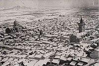 1940. Yecla. Vista nevada.jpg