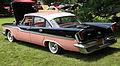 1959 Chrysler Windsor 4-dr sedan, rear left pink & black.jpg