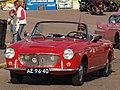 1962 Fiat 1200 Cabriolet Pininfarina, Dutch registration AE-96-40 front1.jpg