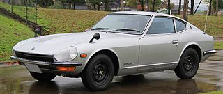 Nissan S30 Japanese sports car produced 1969 to 1978