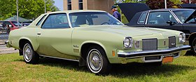 1974 Oldsmobile Cutlass Supreme coupe, front 5.19.19.jpg