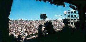 Rock festival - The Nambassa Festival in New Zealand