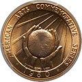 1980 Marian Anderson Half-Ounce Gold Medal (rev).jpg