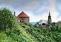 19870607070NR Dohna Burg und Stadtkirche.jpg