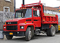 1988 Mack CS300P Mid-Liner conventional in red.jpg