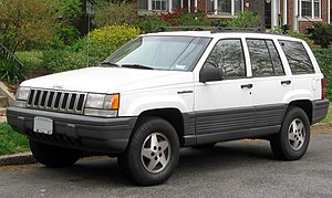 Jeep Grand Cherokee - 1993–1998 Jeep Grand Cherokee (US)