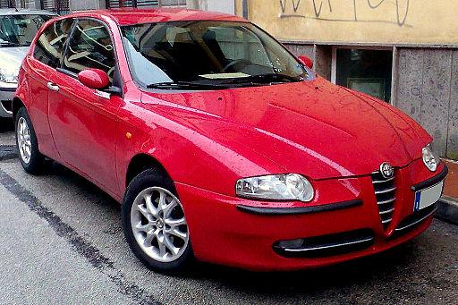 2000 Alfa Romeo 147 Rossa 3porte