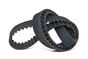 English: 2001 Honda Accord timing belt