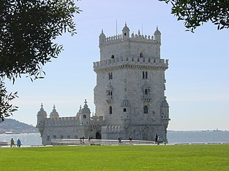 Manueline - The Tower of Belém, in Lisbon, is one of the most representative examples of Manueline style.