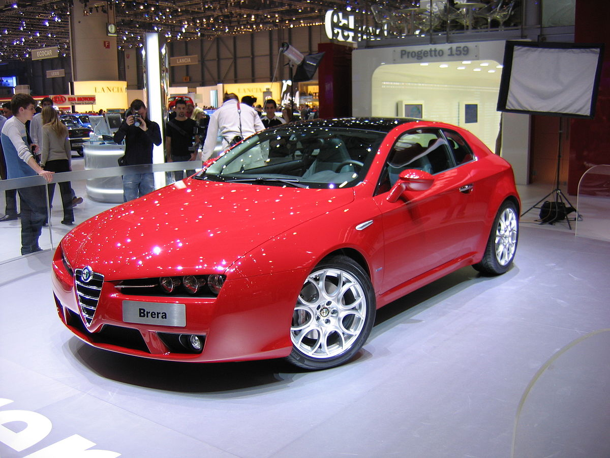 Alfa Romeo Brera on alfa romeo convertible