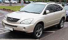 File:2005 Lexus RX 400h SE CVT 3.3 Rear.jpg - Wikimedia Commons