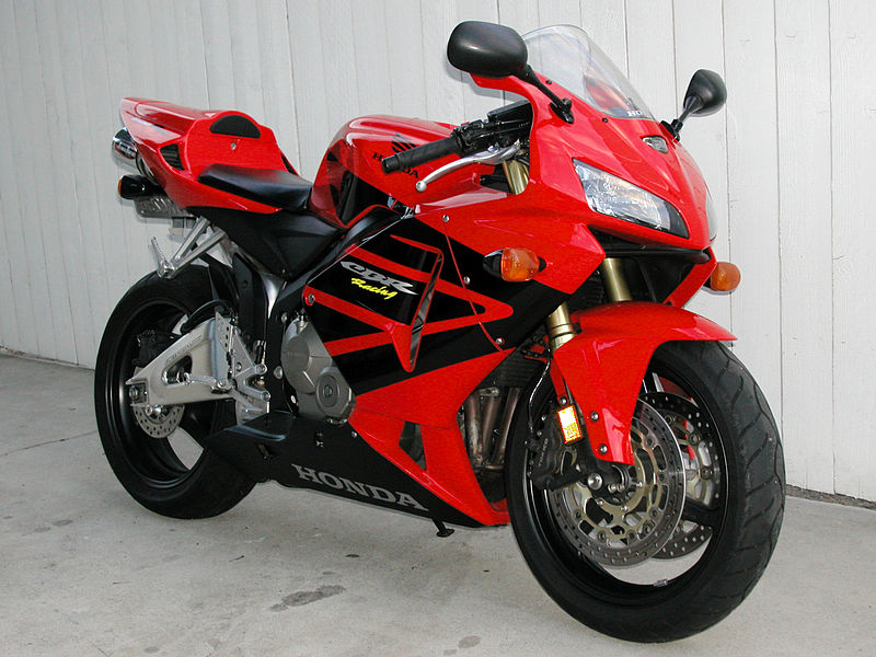 Sports Bike Honda Cbr600rr Super Sport Bike