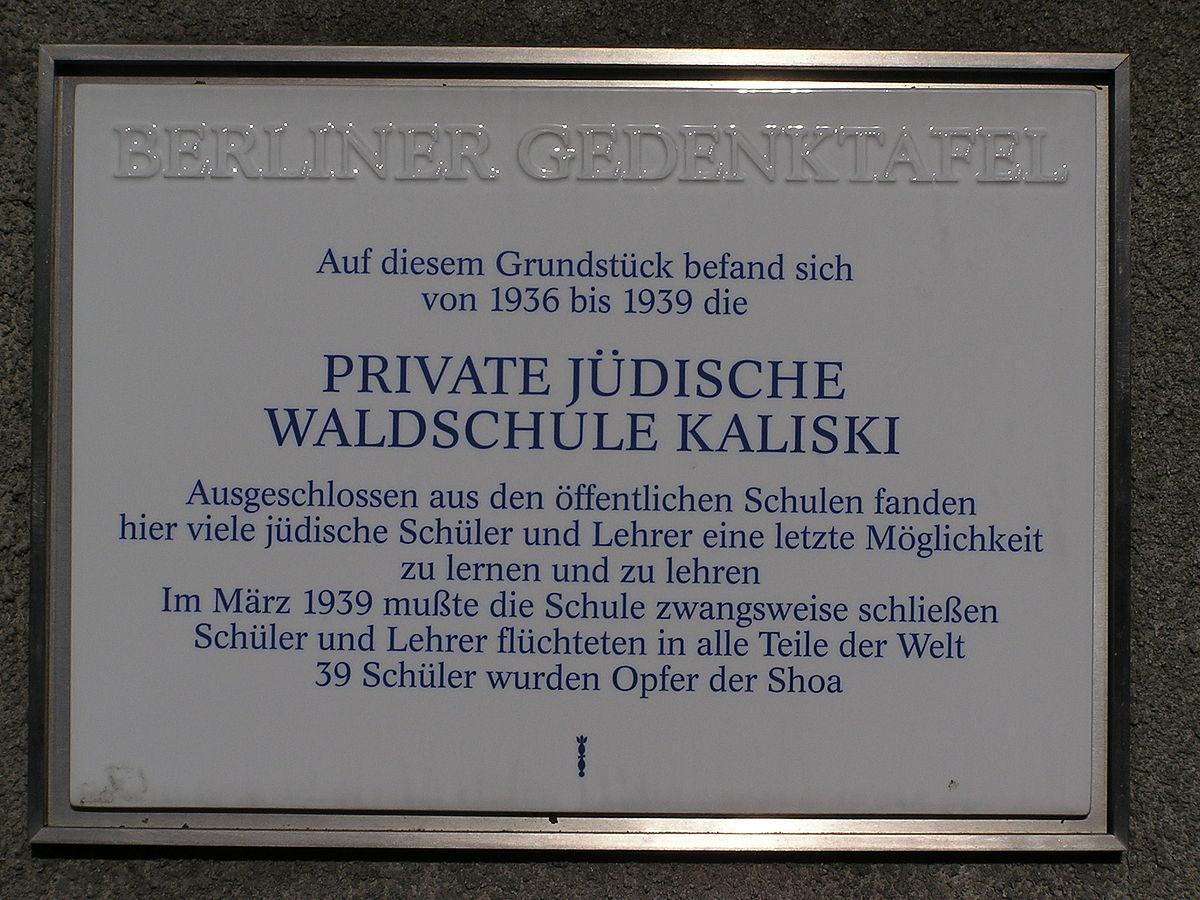 Private Waldschule Kaliski – Wikipedia