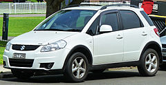 Suzuki SX4 hatchback przed liftingiem
