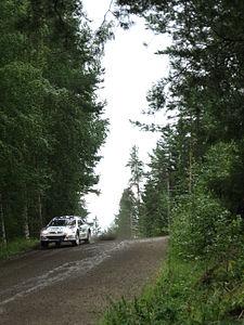 2007 Rally Finland shakedown 10.JPG