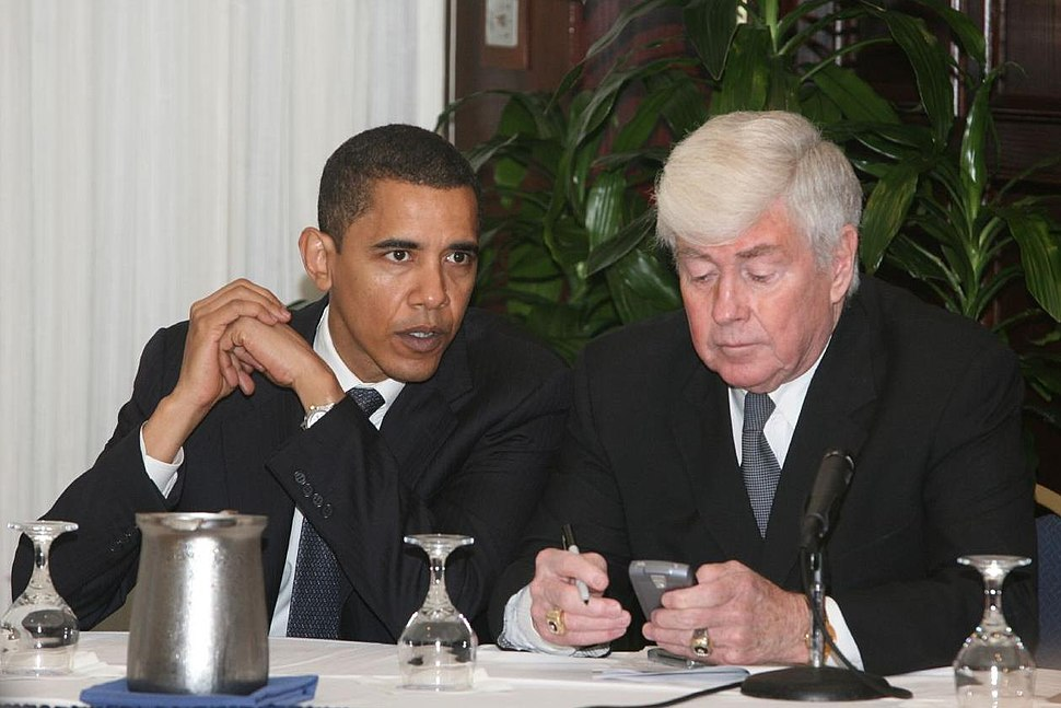 20080222 Sen. Barack Obama and Jack Kemp at the Public Internet Channel Launch.jpg