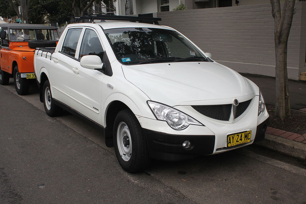 file 2008 ssangyong actyon sports q100 my08 tradie 4wd utility 22354915055 jpg wikimedia. Black Bedroom Furniture Sets. Home Design Ideas