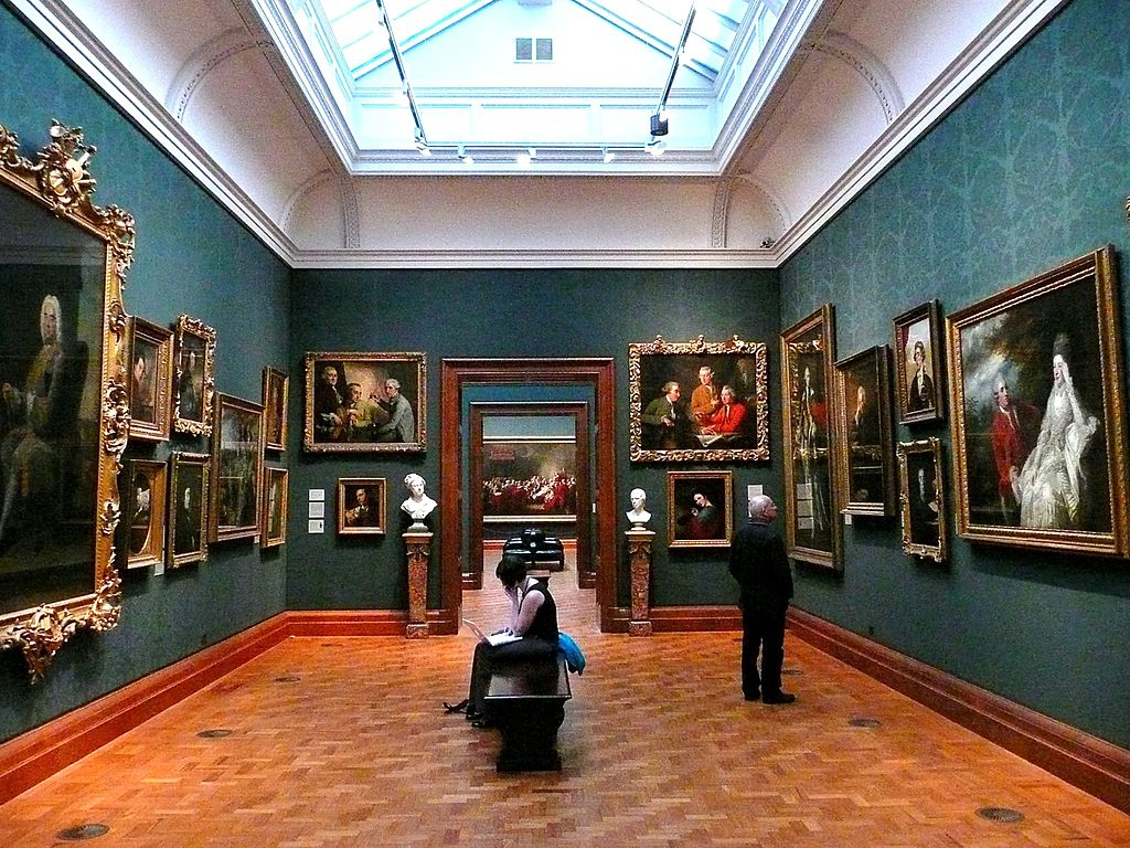 Musée de la National Portrait Gallery à Londres. Photo de Herry Lawford.