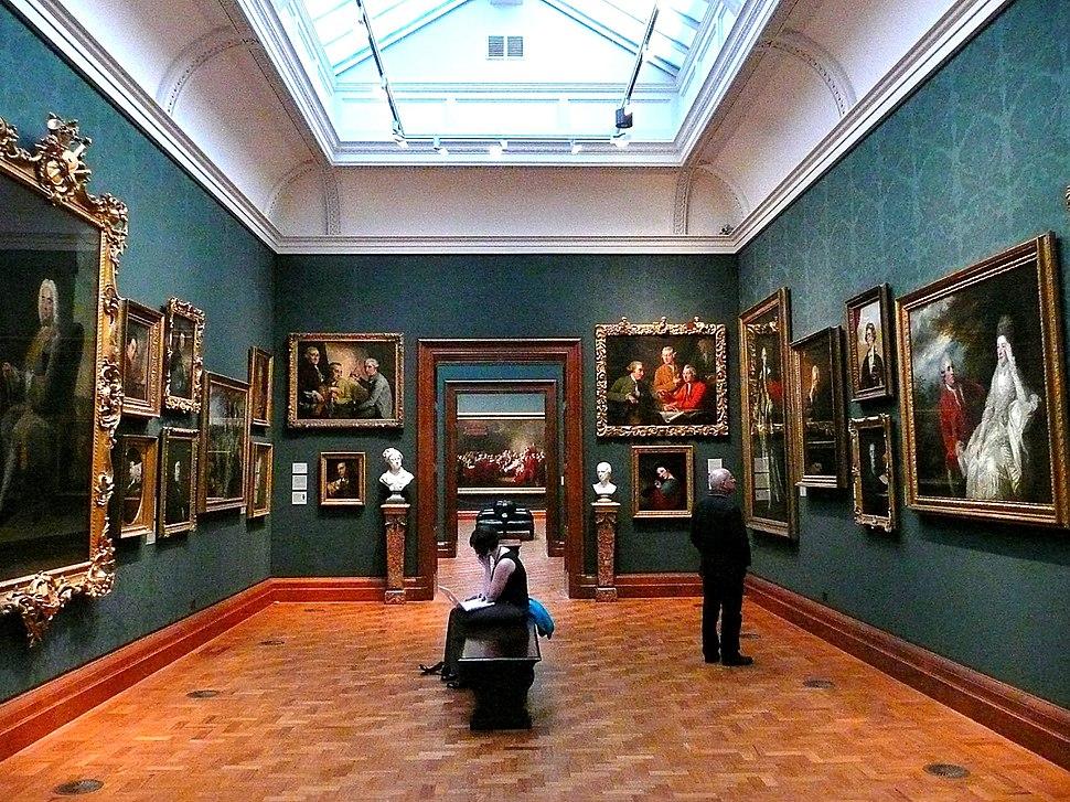 2008 inside the National Portrait Gallery, London