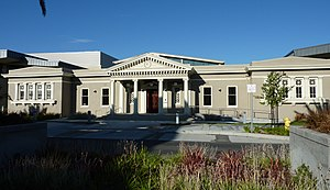 Milpitas Grammar School - The original school building.