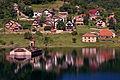 20090714 Mavrovo lake church summer.jpg