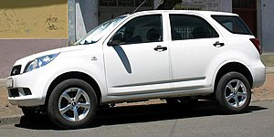 Daihatsu Terios - Daihatsu Terios Advantage (long wheelbase, 7-seater version) (Chile)