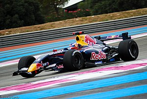 Daniel Ricciardo - Ricciardo in the 2011 Formula Renault 3.5 Series at Circuit Paul Ricard