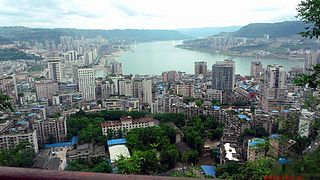 Wanzhou District District in Chongqing, Peoples Republic of China