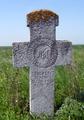 2013 - Cruce de la 1885 din cimitirul vechi al fostului sat Filiu. comuna Bordei Verde.png