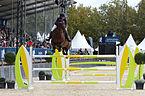 2013 Longines Global Champions - Lausanne - 14-09-2013 - Eirin Bruheim et NLF Favorite.jpg