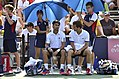 2013 US Open (Tennis) - Fabio Fognini and Albert Ramos (9664683835).jpg