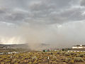 2014-07-20 14 59 39 Blowing dust along the outflow boundary of a thunderstorm in Elko, Nevada.JPG