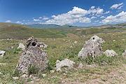 2014 Prowincja Sjunik, Zorac Karer, Prehistoryczny kompleks megalityczny (042).jpg