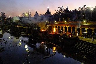 Cremation - Pashupatinath Temple