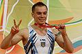 2015 European Artistic Gymnastics Championships - Parallel Bars - Medalists 07.jpg