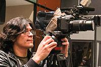 2015 Wikimania press conference - JS - 1.jpg