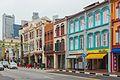 2016 Singapur, Chinatown, Ulica South Bridge, Domy-sklepy (13).jpg