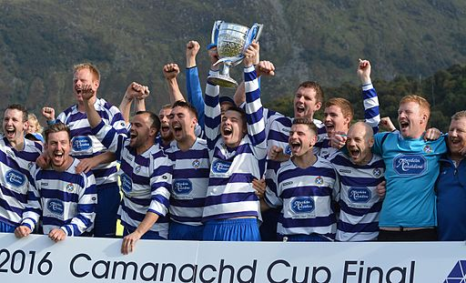 2016 winning team newtonmore