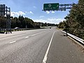 2018-10-30 12 39 17 View west along Virginia State Route 289 (Franconia-Springfield Parkway) at the exit for Virginia State Route 617 (Backlick Road) in Springfield, Fairfax County, Virginia.jpg