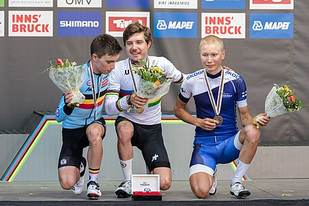20180928 UCI Road World Championships Innsbruck Men under 23 Road Race Award Ceremony 850 0925.jpg