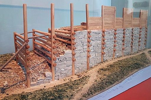 2018 Rheinisches Landesmuseum Trier, Keltischer Wehrmauer