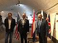 2020-06-01 — Ambassador Hoekstra reopens WO 2 & Vliegeniersmuseum in West Betuwe, together with Servaas Stoop, Mayor of West Betuwe and Museum President Peter den Tek.jpg
