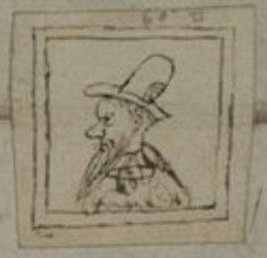 Turlough Luineach O'Neill - 1574 drawing of O'Neill