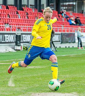 Marie Hammarström Swedish footballer