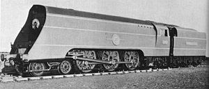 SR Merchant Navy class - Official Southern Railway photograph of 21C1 Channel Packet as built, 1941
