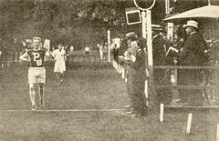 2500 meters steeplechase finish at the 1900 Olympic Games.jpg