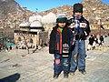 2 visitors of Sakhi memorial - panoramio.jpg